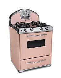 pink retro kitchens