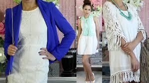 how to wear a white dress ideas u0026 summer youtube