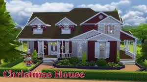Home Cottage by The Sims 4 House Building Christmas Cottage Youtube