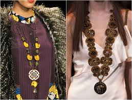 long ethnic necklace images Necklaces trends 2014 2015 fall winter cinefog jpg