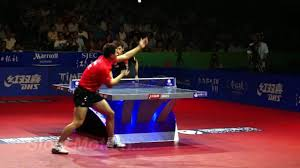 Ma Long Service Slow Motion Watch Or Download Downvids Net