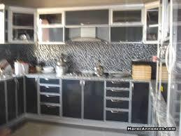 cuisine aluminium cuisine et plaquard moderne en aluminium meubles 07h43 13 12 2017