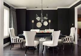 White Leather Dining Room Chairs Home Design - Brilliant white and black dining table property