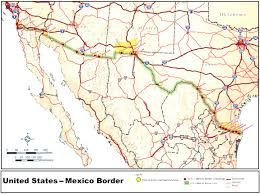 United States Map With States by Usa And Mexico Map With States Usa And Mexico Map With States Us