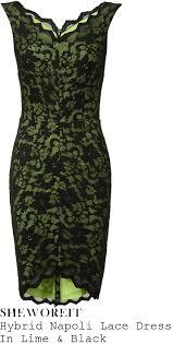 green lace overlay dress fashion dresses