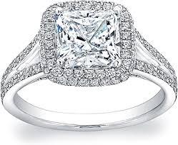 cushion cut split shank engagement rings split shank pave halo setting ad4800