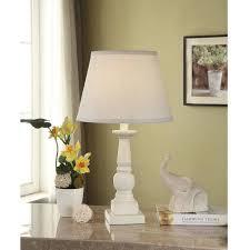 Room Lamp Mainstays Washed Finish Wood Table Lamp Base Walmart Com