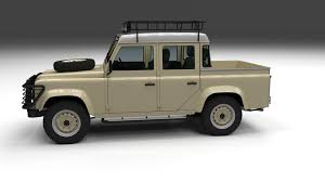 land rover defender vector land rover defender 110 double cab pick up w inter by dragosburian
