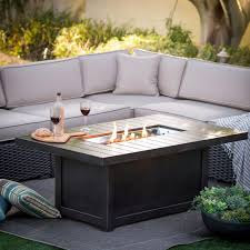 Gas Firepit Table Wood Burning Pit Ideas Diy Rectangular Table Outdoor Gas