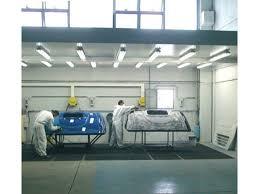 cabines de peinture pressurisée spécifique pour carrosserie