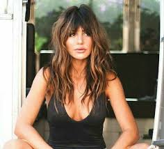 hairstyles for long hair long bangs 704 best hair beauty images on pinterest hair care make up