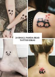 small panda bear tattoo ideas for girls tattoos that i love