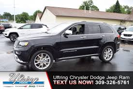 2016 jeep avenger pre owned 2016 jeep grand cherokee summit sport utility in pekin