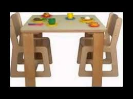 Kidkraft Table With Primary Benches 26161 Kids Art Table And Chairs Youtube