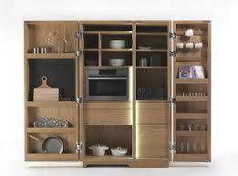 armoire pour cuisine armoire de rangement pour cuisine contemporain en bois cambusa