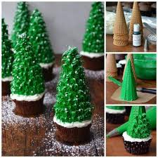 how to make beautiful tree cup cakes step by step diy