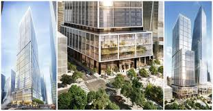 Hudson Yards Map Foster Partners U0027 Plans For 50 Hudson Yards In New York Unveiled