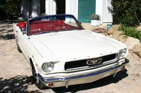 white ford mustang convertible 1966 ford mustang convertible in wimbledon white