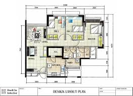 interior design plans trend 13 plan flat interior design drawings
