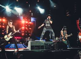 guns n roses reward stadium crowd with a robust and subtly