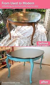 kitchen table refinishing ideas refinished dining table best refinished table ideas on kitchen