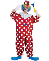 Halloween Costumes Accessories Cl529 Dotted Clown Carnival Funny Circus Joker Birthday