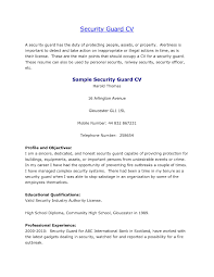 profile on a resume example armed security guard resume sample free resume example and we found 70 images in armed security guard resume sample gallery