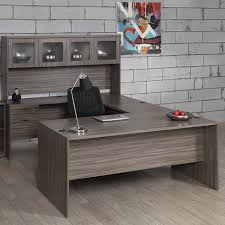 U Shape Office Desk by Osp Lodi U Shape Workstation With Hutch Atwork Office Furniture