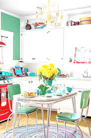 red and yellow kitchen ideas 1950 kitchen design yellow and red 1950s retro inside decor