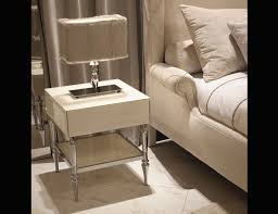Bed Side Table by Nella Vetrina Visionnaire Ipe Cavalli Ginevra Luxury Bedside Table