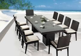 Black Wicker Patio Furniture by Furniture Adorable Description About Modern Outdoor Dining Sets