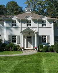 tudor house exterior paint colors exterior traditional with grey