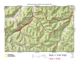 National Geographic Topo Maps Science Club Hiking Trails