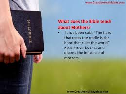 mothers day activities what the bible says about mothers