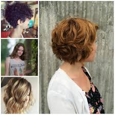trendy haircuts curly hair short hairstyle for wavy hair 2017 subtle curly hairstyle ideas