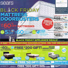 sears black friday 2015 mattress doorbusters ad is here