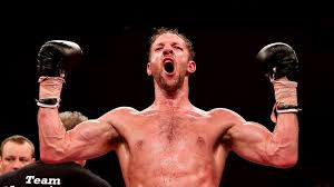 enzo weight enzo maccarinell stuns ring legend roy jones in four boxing