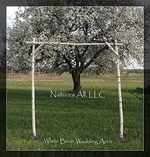 diy wedding arch diy white birch wedding arch handmade