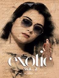 new catalogue exotic long vol 2 krishriyaa kurti archives bs fashion