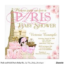 paris themed baby shower invitations paris themed baby shower