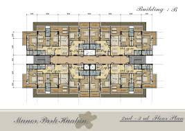 apartments building plans for 2 bedroom