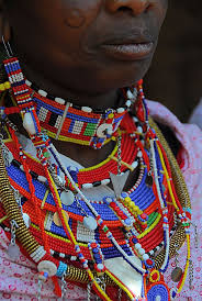 227 best colonial maasai necklaces images on