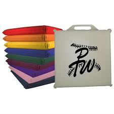 19 best bleacher stadium seat cushions personalized with your logo