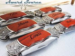 wedding gift knives custom pocket knife groomsmen wedding gift engraved by knifepro