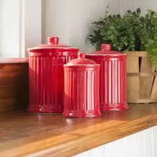 3 kitchen canister set barrel studio newmont 3 kitchen canister set reviews
