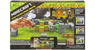 bestbuy com minecraft stop motion movie creator set only 16 49
