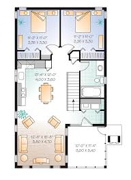 Two Family Home Plans Garage Plan 65215 At Familyhomeplans Com