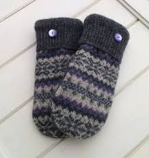 sweater mittens 82 best sweater mittens images on knitted gloves