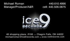 Business Cards San Francisco Full Color Business Cards Ice9 Back Music Production New York