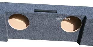 nissan titan sub box 2014 chevy silverado gmc sierra crew cab subwoofer box enclosure